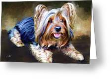 Terrier Greeting Card