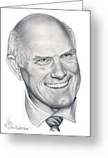 Terry Bradshaw-murphy Elliott Greeting Card