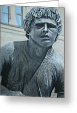 Terry Fox Statue Greeting Card