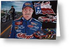 Terry Labonte Greeting Card