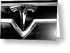 Tesla Greeting Card