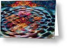 Tesseralien Griddle Greeting Card