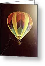 Tether Before Sunrise Greeting Card