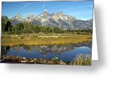 Teton 5 Greeting Card
