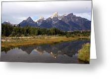 Teton 7 Greeting Card