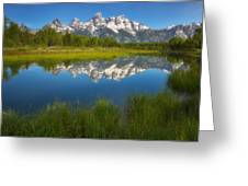 Teton Meadows Greeting Card