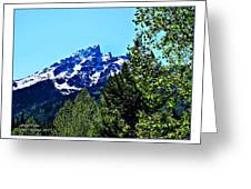 Teton Picture Perfect Greeting Card