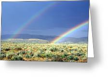 Teton Rainbow Greeting Card