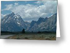 Teton Range Greeting Card