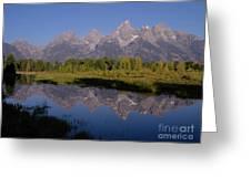 Teton Sunrise 2 Greeting Card