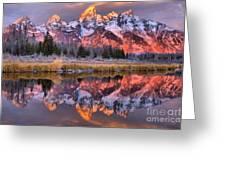 Teton Sunrise Spectacular Greeting Card