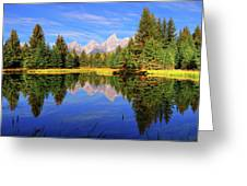 Teton Tranquility Greeting Card