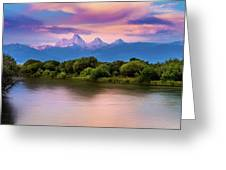 Teton Valley Paradise  Greeting Card