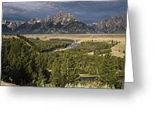 Teton Valley Snake River Greeting Card