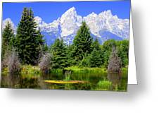 Tetons 3 Greeting Card