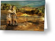 Tetrarchs In Isle Of Chaos Greeting Card