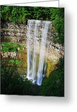 Tew's Waterfall Greeting Card