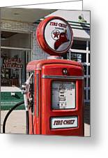 Texaco Fire-chief #1 Greeting Card