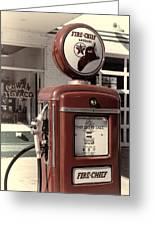 Texaco Fire-chief #2 Greeting Card