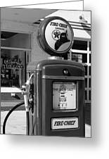 Texaco Fire-chief #3 Greeting Card