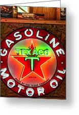 Texaco Gasoline Greeting Card