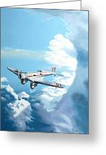 Texaco Sky Chief Greeting Card
