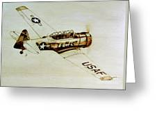 Texan T6 Greeting Card
