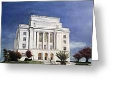 Texarkana Courthouse Greeting Card