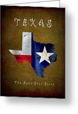 Texas ... The Lone Star State Greeting Card