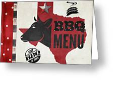 Texas Barbecue 4 Greeting Card