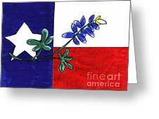 Texas Bluebonnet Greeting Card