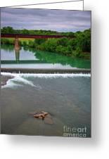 Texas Bridge Greeting Card