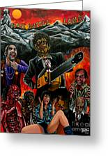 Texas Chainsaw Massacre 2 Greeting Card