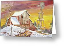 Texas Coldfront Greeting Card