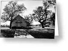 Texas Country Church Greeting Card