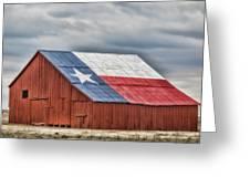 Texas Flag Barn #3 Greeting Card