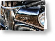 Texas - Ford Super Deluxe Greeting Card