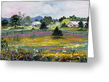 Texas Hillcountry Flowers Greeting Card