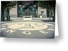 Texas Rangers Logo Greeting Card
