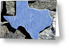 Texas Rocks Greeting Card
