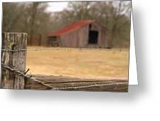 Texas Scene.. Greeting Card
