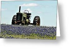 Texas Spring Greeting Card