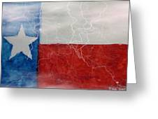 Texas Storm Greeting Card
