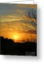 Texas Sun Greeting Card