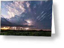 Texas Twilight Greeting Card