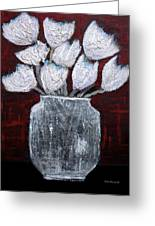 Textured Blooms Greeting Card