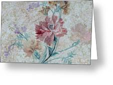 Textured Florals No.1 Greeting Card