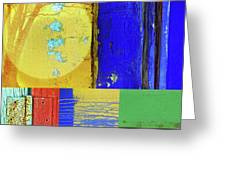 Textures Of A Thurdsay Greeting Card