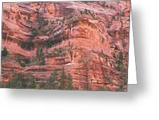 Textures Of Zion Greeting Card