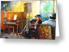 Tha Hambone Gallery In Clarksdale Greeting Card